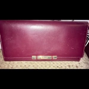 Vintage Bally Leather Organizer Wallet